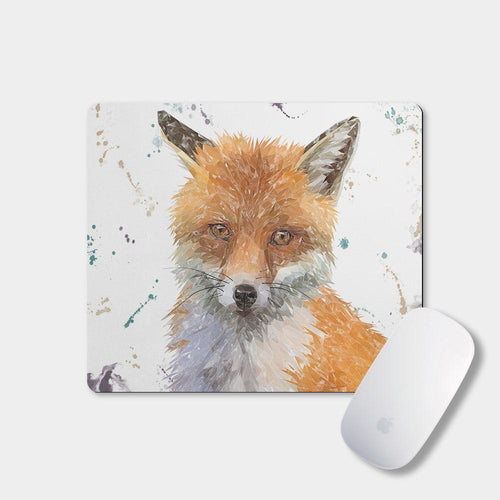 """Rusty"" The Fox Mousemat"