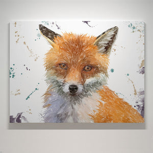 """Rusty"" The Fox Canvas Print - Andy Thomas Artworks"