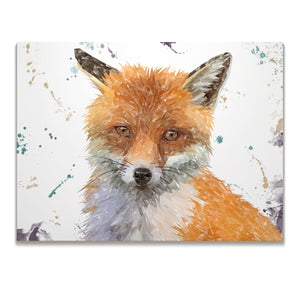 "NEW! ""Rusty"" The Fox Skinny Canvas Print"