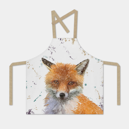 """Rusty"" The Fox Apron"