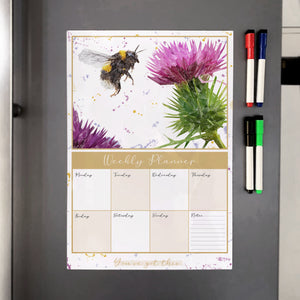 Highland Honey A3 Magnetic weekly planner