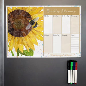 Summer Nectar A3 Magnetic weekly planner