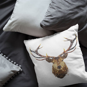 """The Stag"" Cushion - Andy Thomas Artworks"