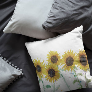 """The Sunflowers"" Cushion - Andy Thomas Artworks"