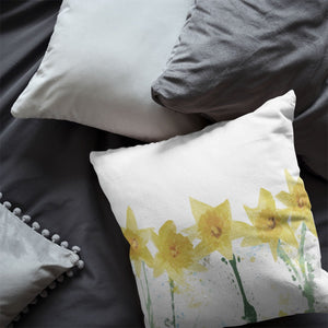 """The Daffodils"" Cushion - Andy Thomas Artworks"