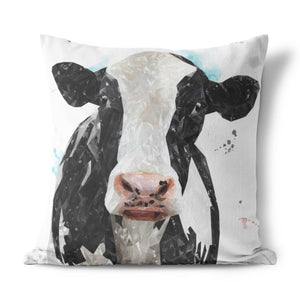 """Harriet"" The Holstein Cow Cushion - Andy Thomas Artworks"