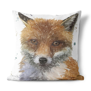 """Rusty"" The Fox Cushion - Andy Thomas Artworks"