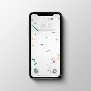 Splashes 1 Phone Wallpaper - Andy Thomas Artworks
