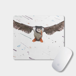"""Frank"" The Puffin Mousemat - Andy Thomas Artworks"