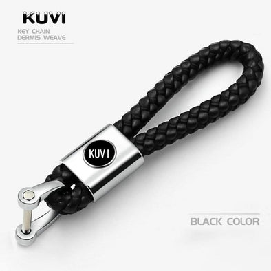 1pcs Metal+Leather Car Keychain Key Chain Key Ring Keyring For BMW Nissan Kia Citroen Toyota Audi Mercedes VW honda Peugeot
