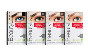BeautyLash Tinting Kit for Brows and Lashes - MEDIUM BROWN