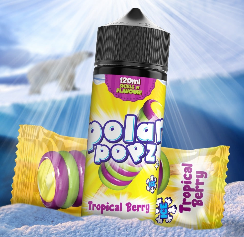 Polar popz Tropical Berry.