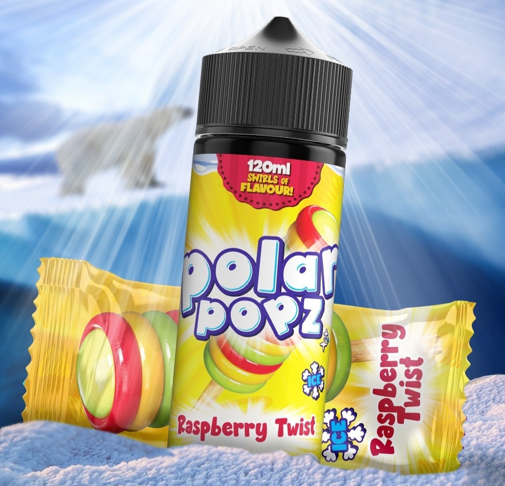 Polar popz Raspberry twist