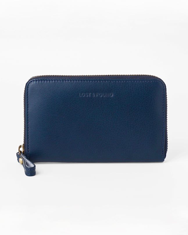 Medium Zip Wallet Marine
