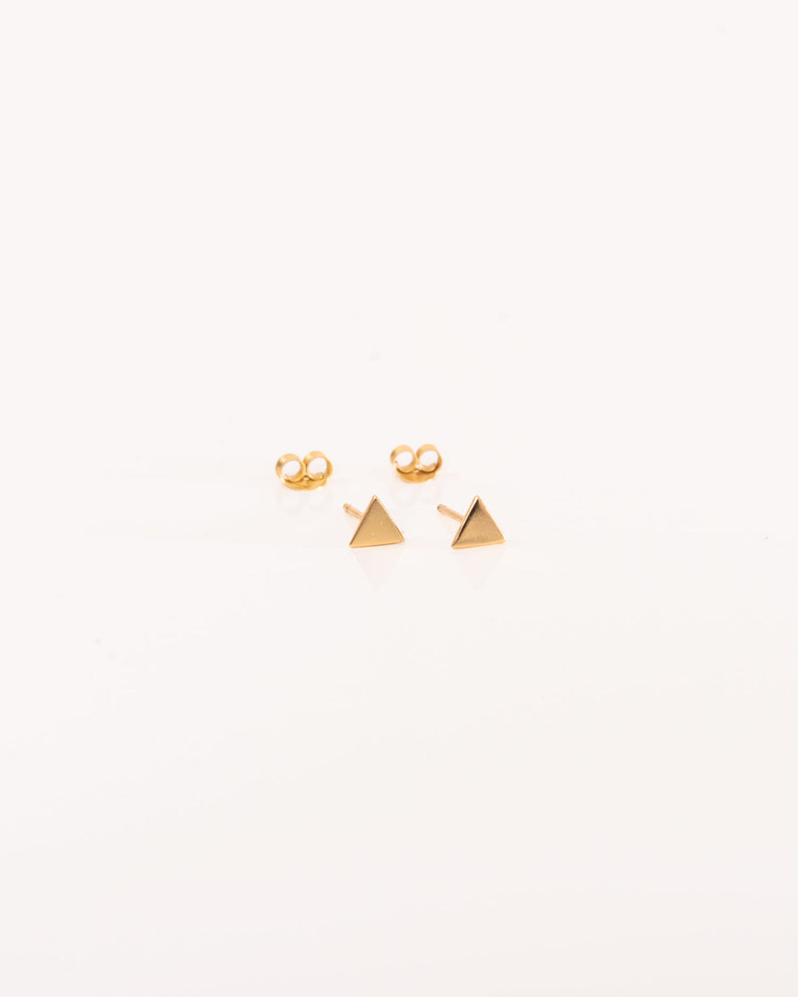 Triangle Mini Studs