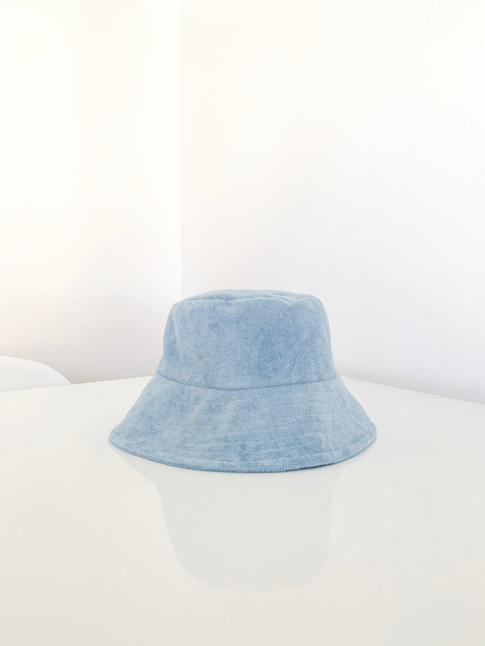Terry Bucket Hat - Baby Blue