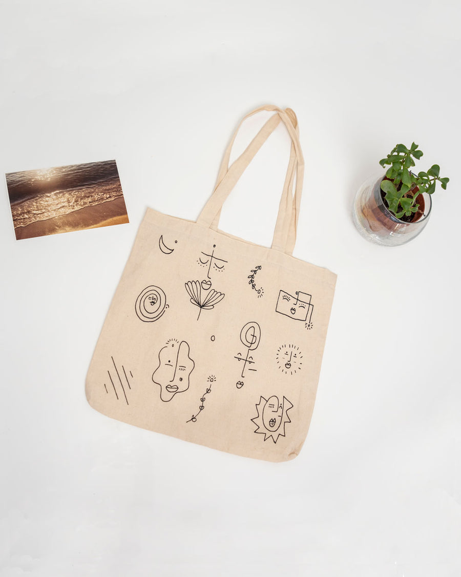 Beings Tote Bag