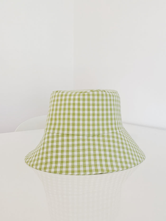 Bucket Hat - Green/White