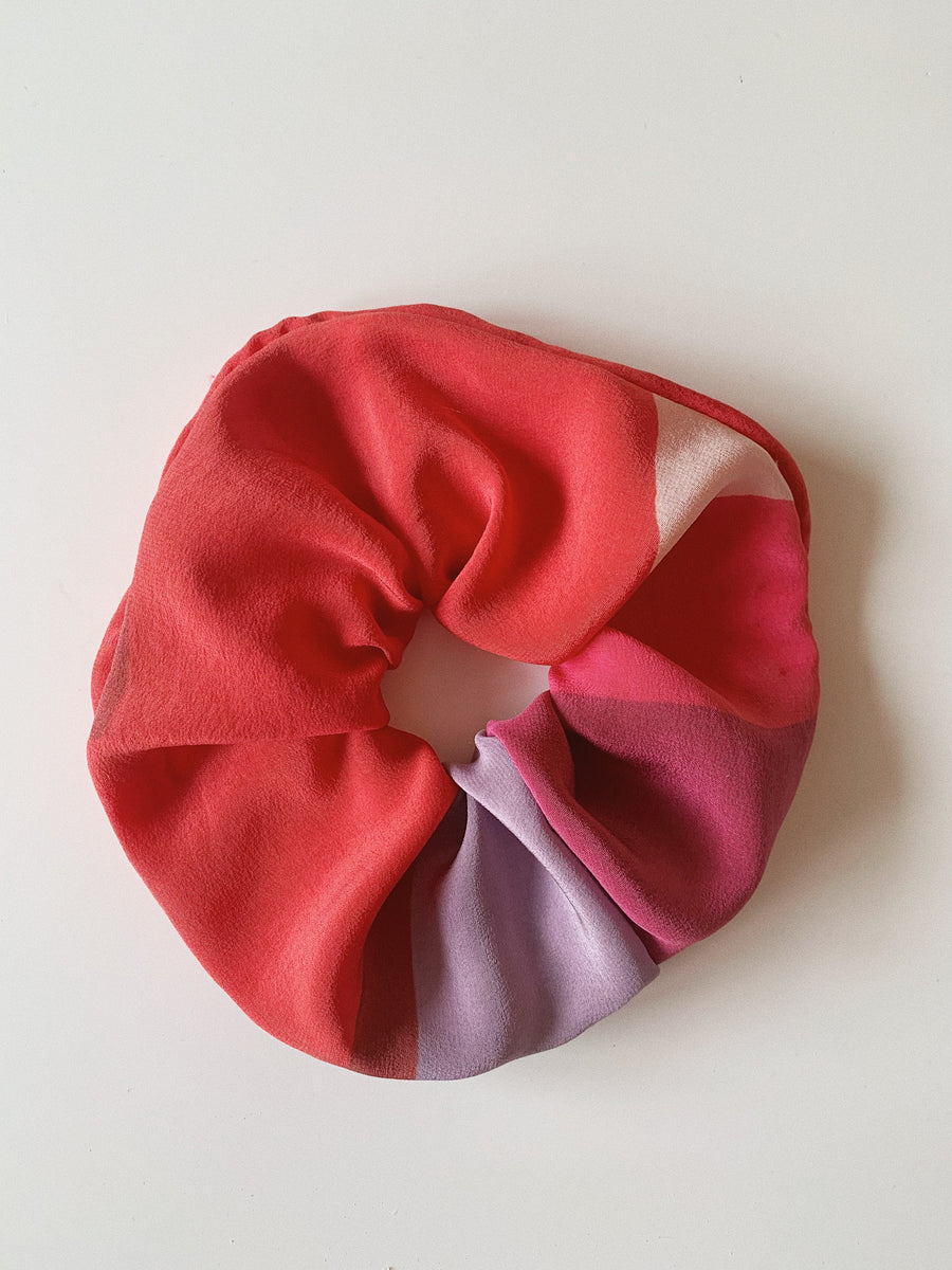 Pure Silk Scrunchie - Watercolor