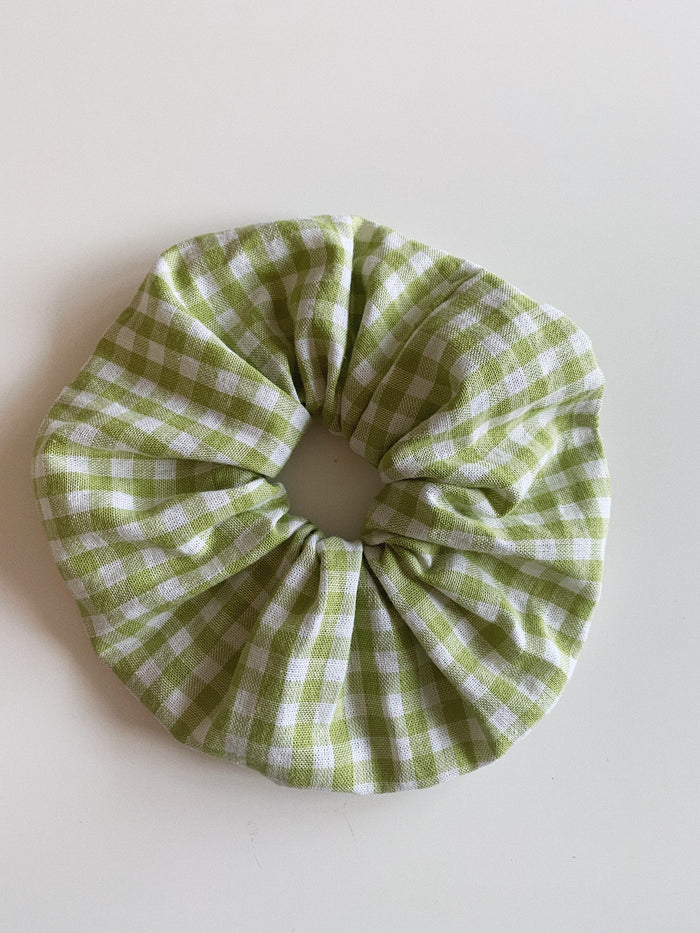Scrunchie - Green/White