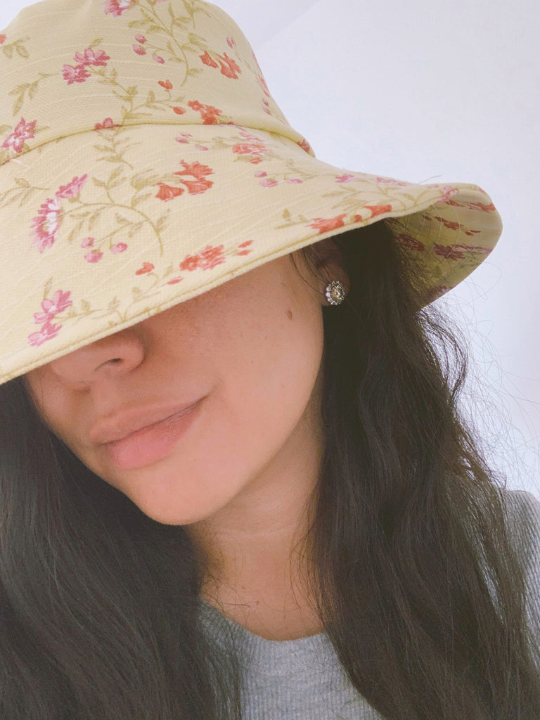 Bucket Sun Hat - Yellow