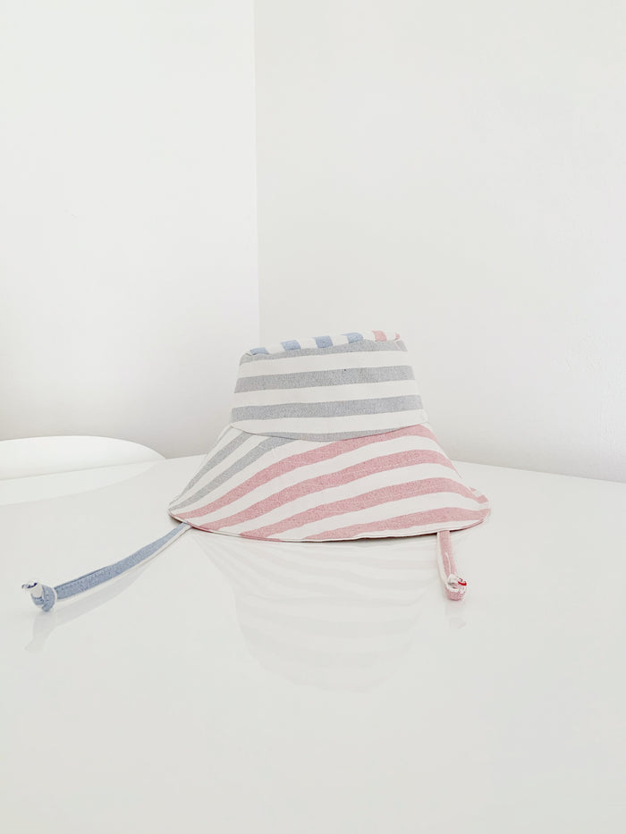 Bucket Sun Hat - Stripes