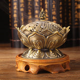 Buddhist Lotus Incense Burner