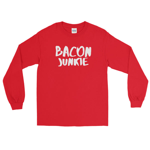Bacon Junkie - Long Sleeve T-Shirt