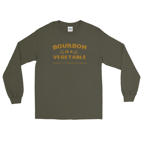 Bourbon Is A Vegetable - Long Sleeve T-Shirt