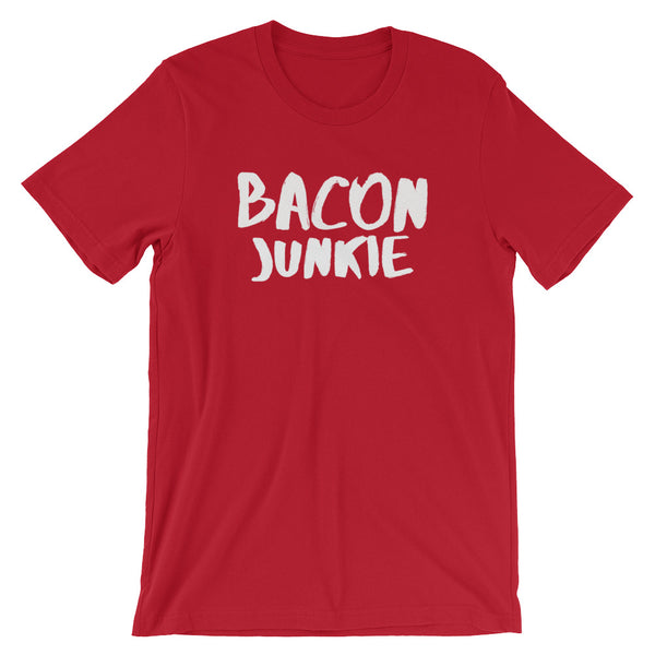 Bacon Junkie - Short-Sleeve Unisex T-Shirt