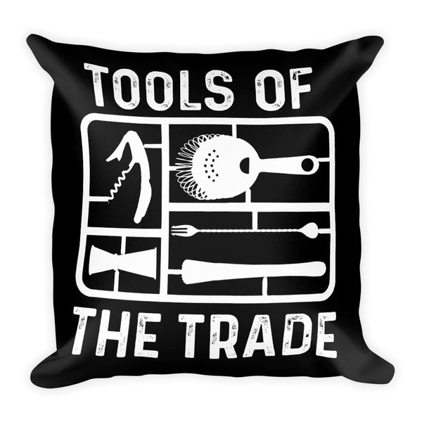 Tools of the Trade - Square Pillow