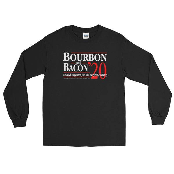 Bourbon & Bacon '20 - Long Sleeve T-Shirt