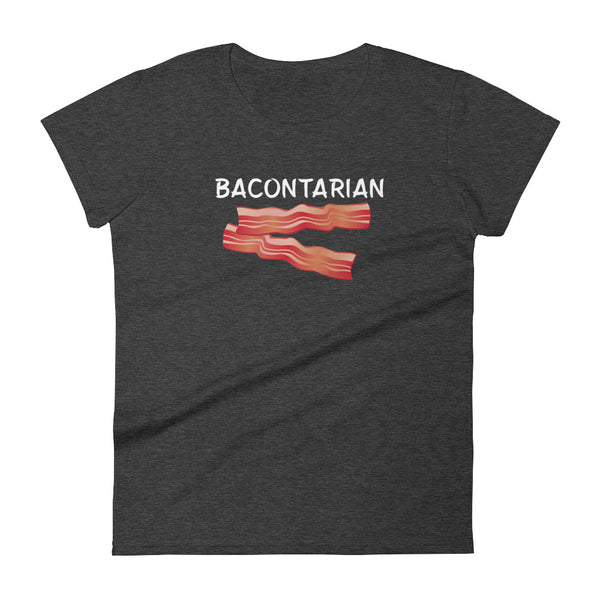 Bacontarian - Women's short sleeve t-shirt