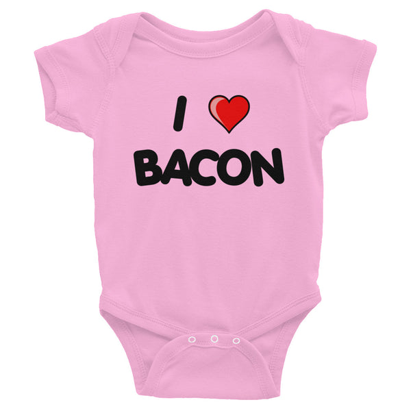 I LOVE BACON - Infant Bodysuit