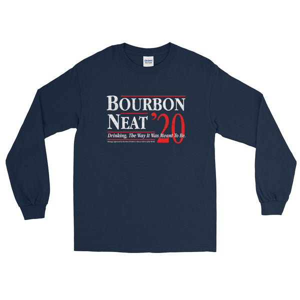 Bourbon Neat '20 - Long Sleeve T-Shirt