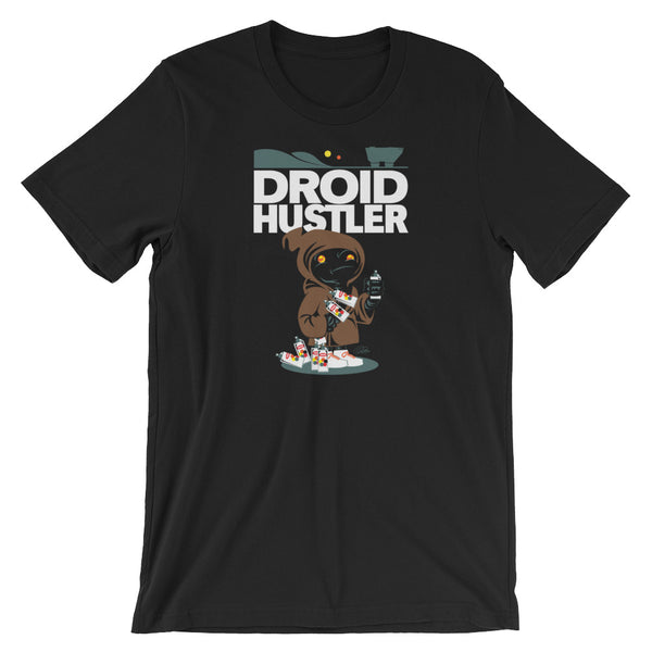 Droid Hustler by Pocket Wookie - Short-Sleeve Unisex T-Shirt