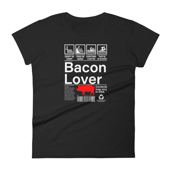 Bacon Lover - Women's short sleeve t-shirt