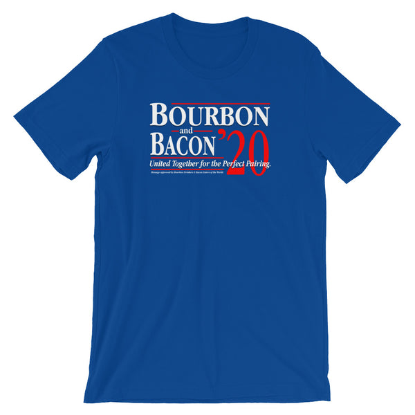 Bourbon & Bacon 2020 - Short-Sleeve Unisex T-Shirt