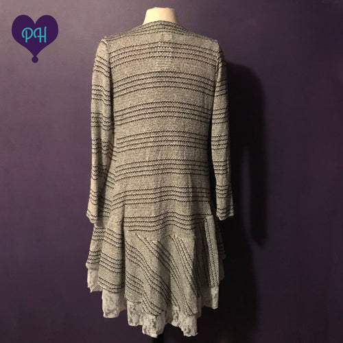 Back of striped sweater | Plum Hanger