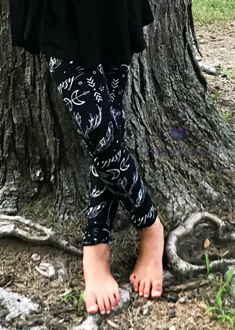 Bohemian Dreams Leggings | Available Mommy and Me | Plum Hanger Boutique
