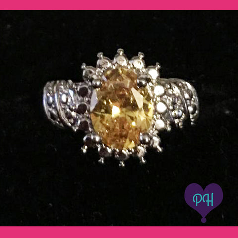 Champagne Ring Size 6 | Plum Hanger