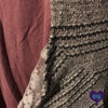 Close up of Striped Cardigan | Plum Hanger