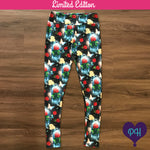 Limited Edition Enchanted Rose Leggings | Plum Hanger