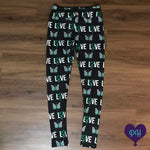 Green ribbon awareness leggings | Plum Hanger