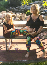 Halloween mommy and me leggings | Plum Hanger