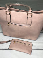 Back view of Rosie purse | Plum Hanger