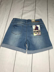 Back view of Tina shorts | Plum Hanger