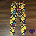 Lemon Squeeze leggings | Plum Hanger