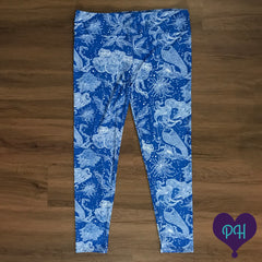 Mesmerizing Mermaids Leggings | Plum Hanger