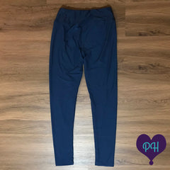 Classic Navy leggings | The Plum Hanger